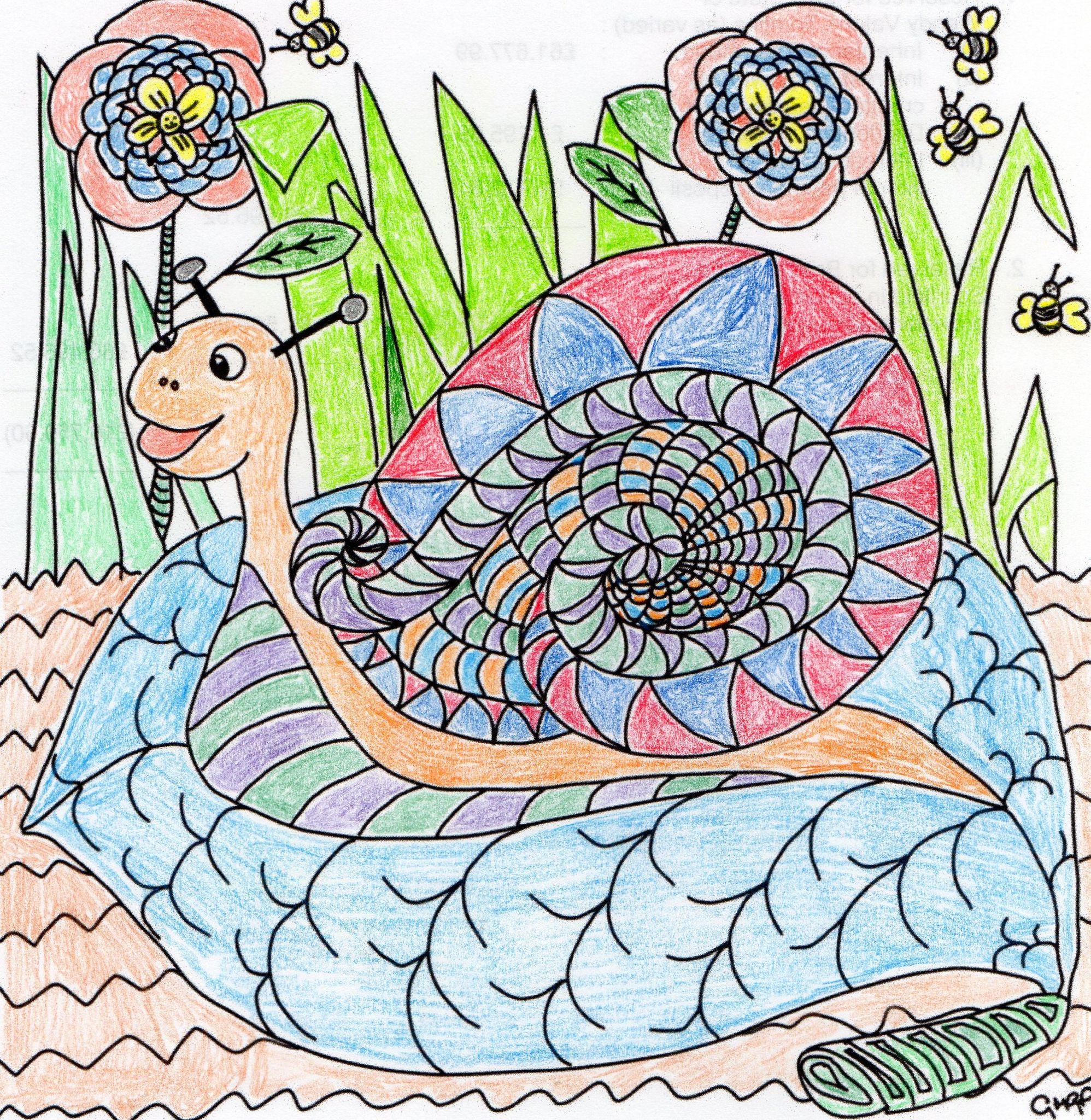 A Cheerful Snail